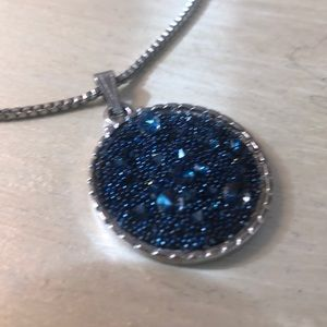 Luca and Dani Adjustable Druzy Necklace